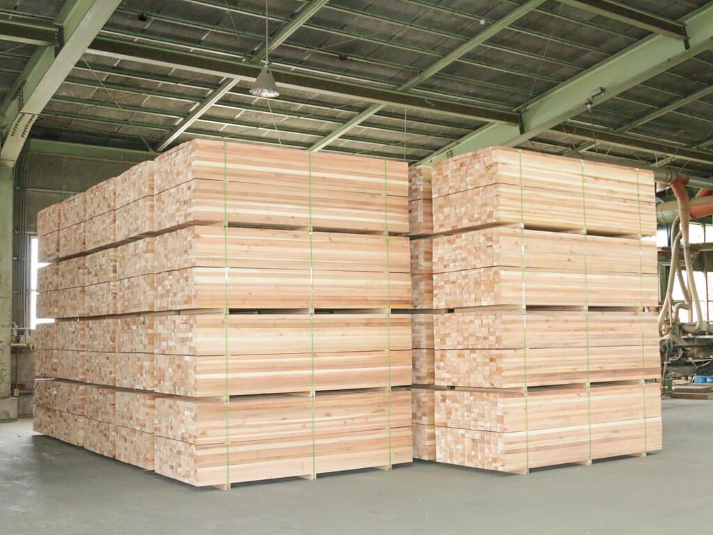 杉の構造材